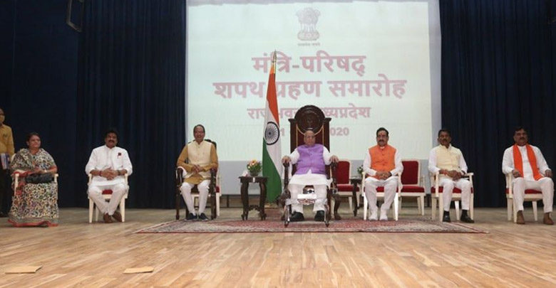five ministers joined Shivraj Singh Chauhan's cabinet
