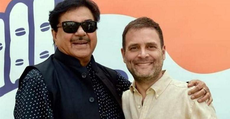shatrughan sinha and rahul gandhi
