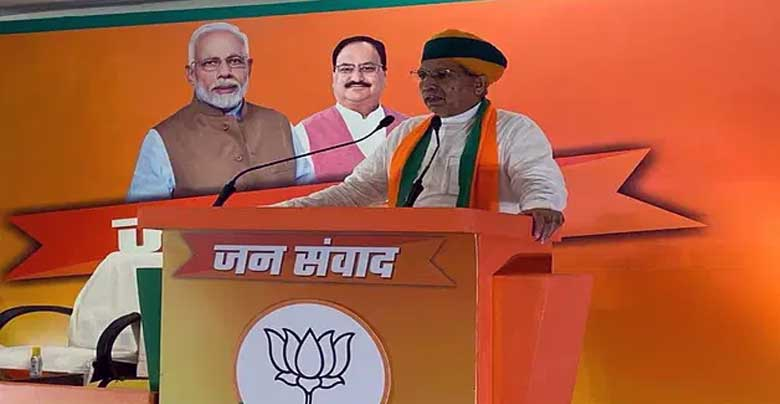 Half in 2019, clean in 2021 elections, BJP government is set to form in Bengal - Meghwal