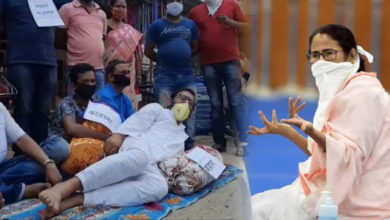 Mamta said: 'Think of Corona as a pillow', she took a pillow and slept on the road