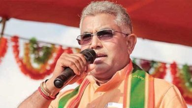dilip ghosh bjp rally