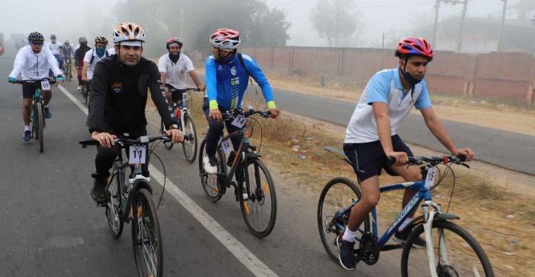 maitri cycle rally
