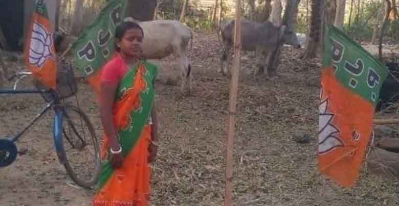 Husband is MNREGA worker and wife became BJP candidate, know what is the story