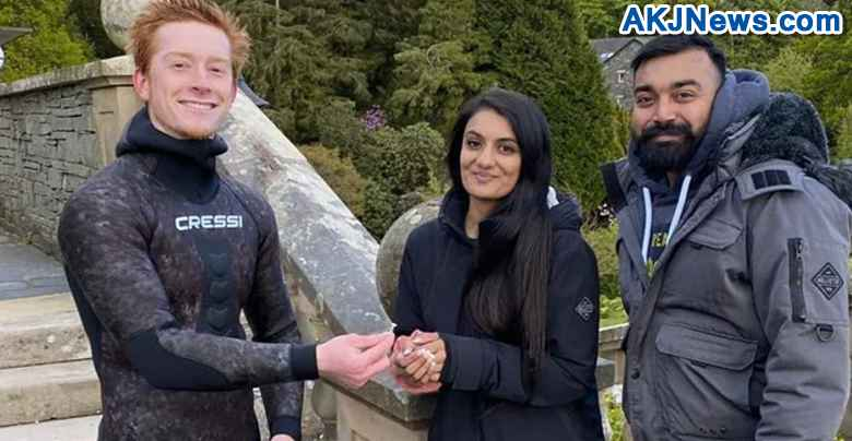 Diver Finds Lost Engagement Ring Of Indian-Origin Couple