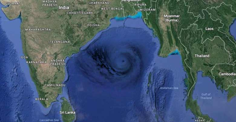 bay of bengal is center of cyclone
