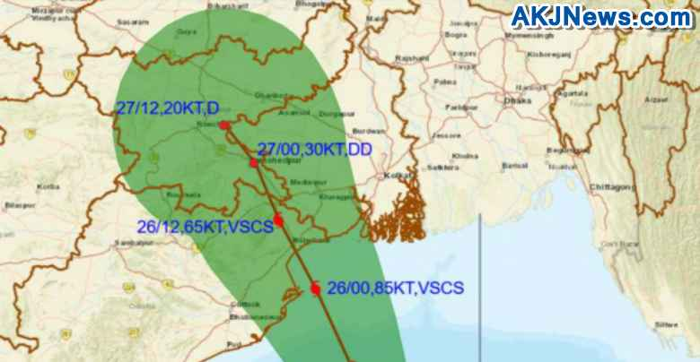 effect of cyclone yaas in west bengal and odisha
