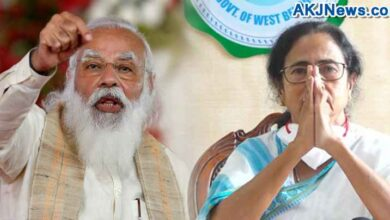 mamata is ready to touch modi's feet