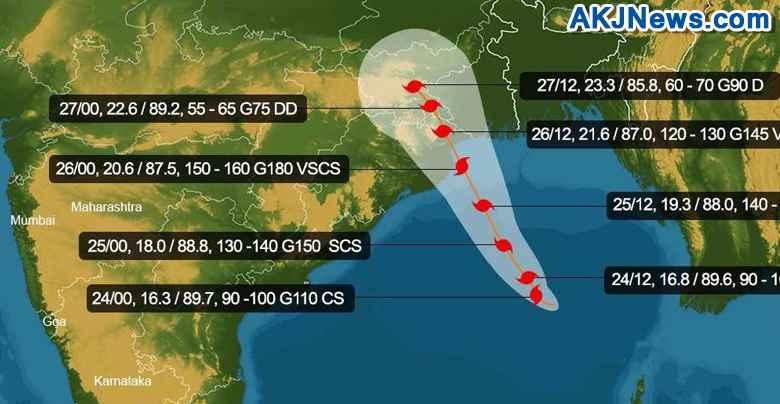 path of yaas cyclone