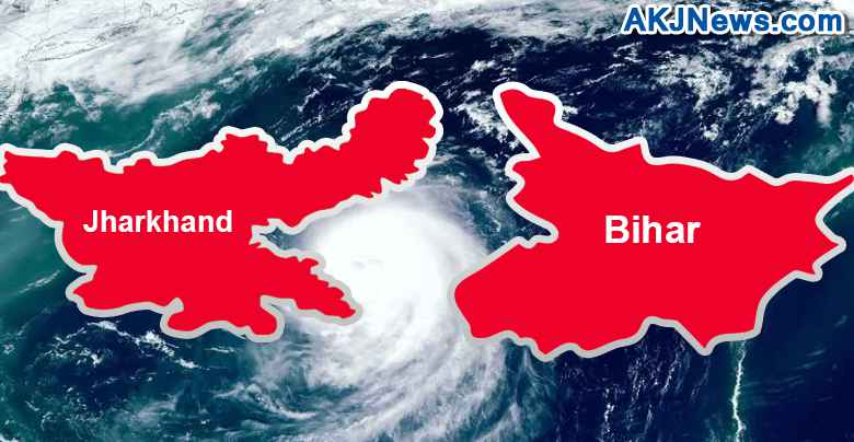 red alert in bihar and jharkhand