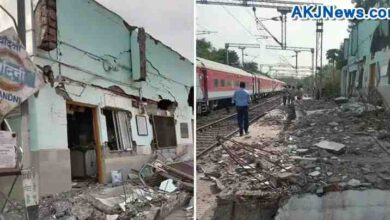 station collapsed due to speed of train