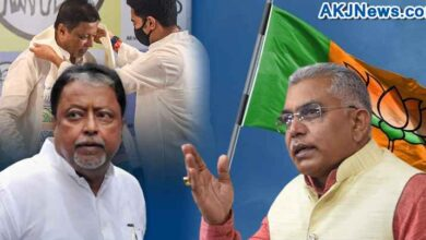Dilip Ghosh took a jibe at Mukul Roy