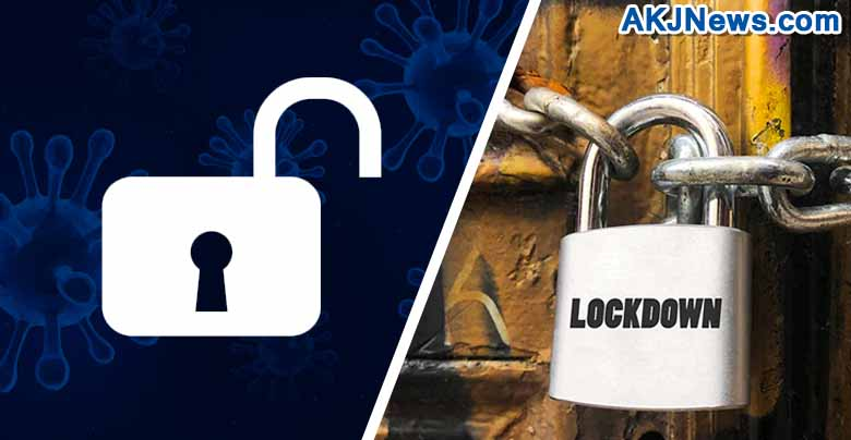 Unlock has started in many states