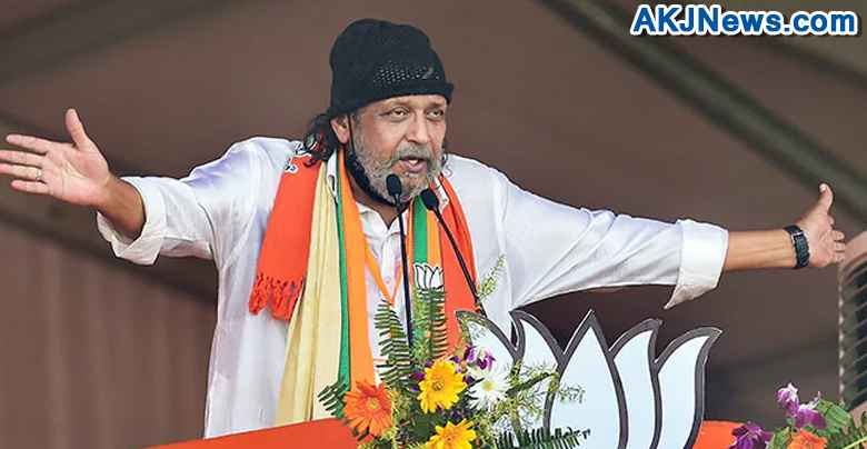 mithun chakraborty's speech during west bengal assembly election