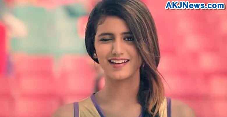 priya prakash varrier viral video