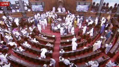 Rajya-Sabha-and-loksabha-adjourned-till-tomorrow