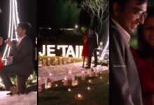 a boy built eiffel tower in mumbai to propose her girlfriend
