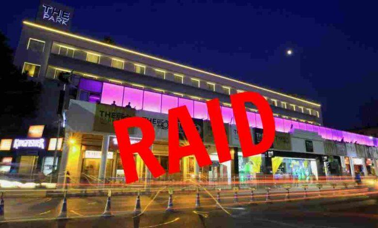 police raid at park hotel