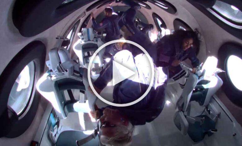 shiisha-bandla-and-her-crewreturning-from-space
