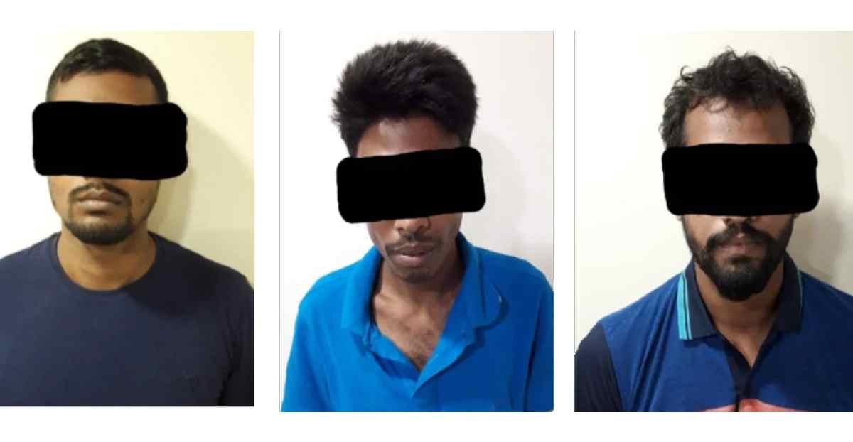 three terrorists arrested in kolkata