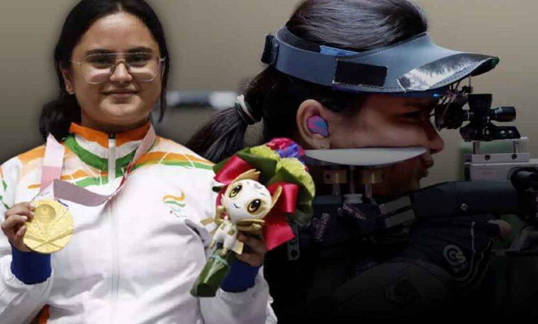 Avni Lekhara won gold in Paralympics 2020