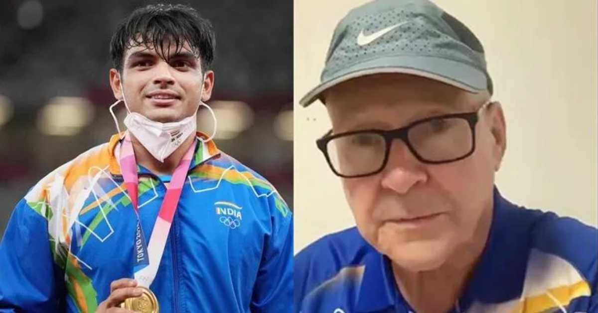 Neeraj Chopra and his coach