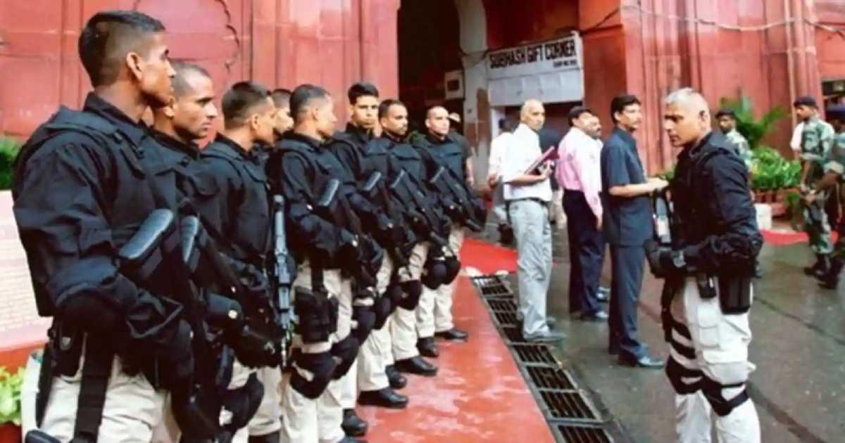 SPG security of PM Modi