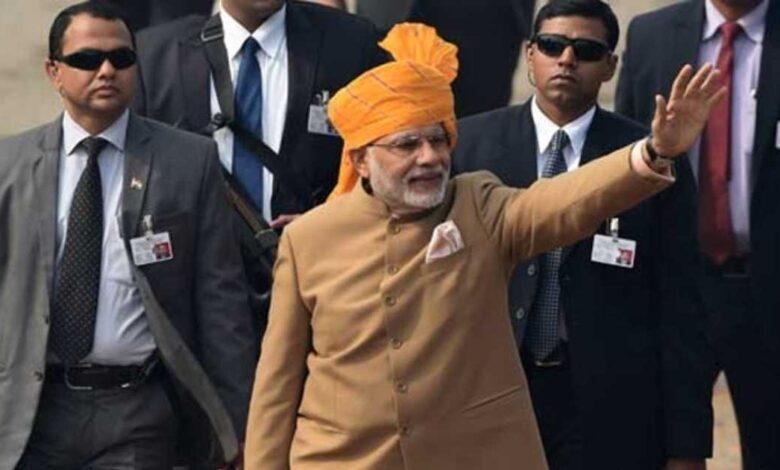 amount spent on SPG security of PM Modi